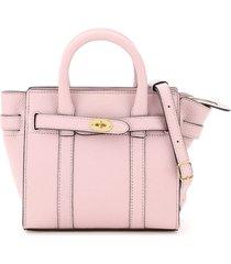mulberry micro zipped bayswater handbag