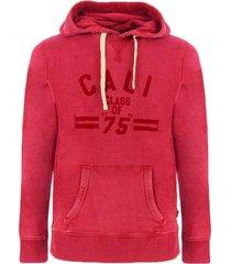 sweater jack jones leon vintage sweatshirts mens rood