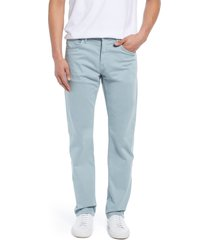 men's mavi jeans men's matt relaxed fit twill pants, size 36 x 32 - blue