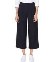 women's nydj frisco wide leg crop pants