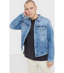 calvin klein jeans foundation slim denim jacket jackor denim