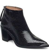 mirte_f20_vsh shoes boots ankle boots ankle boot - heel svart unisa