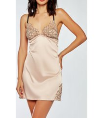 icollection eyelash flower lace chemise nightgown, online only