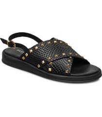 sigfrid shoes summer shoes flat sandals svart pavement