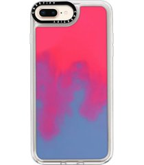 casetify neon sand iphone7/8 & 7/8 plus case - pink