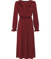 abito in satin (rosso) - bodyflirt
