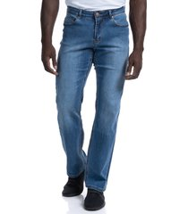 men's barbell apparel relaxed athletic fit jeans, size 34 x 34 - blue