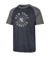 '47 brand new york yankees men's tri-blend raglan t-shirt