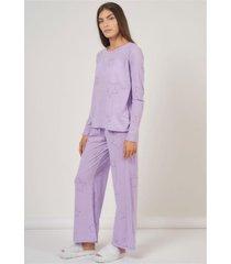 pijama conjunto stars lila élida