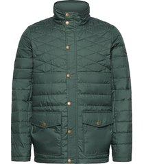 edinburgh pl quilted jkt doorgestikte jas groen musto