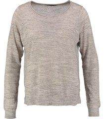 only zachte trui met glitterdraad