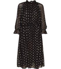 day metro jurk knielengte zwart day birger et mikkelsen