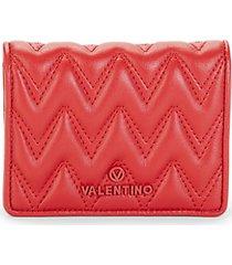 nero sauvage bi-fold leather wallet