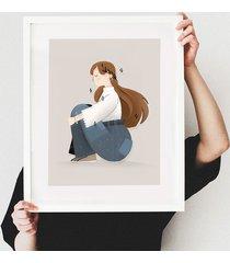 plakat super dziewczyna