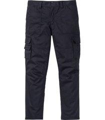 pantaloni cargo termici con teflon loose fit (grigio) - bpc selection