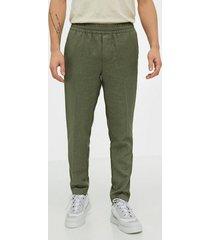 samsøe samsøe smithy trousers 11387 byxor green
