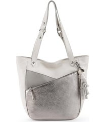 the sak collective gretchen leather bucket bag