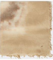 motivi sciarpa tye and dye donna beige