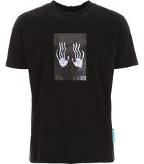 marcelo burlon hands square t-shirt