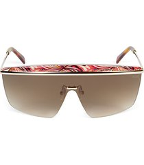 140mm metal shield sunglasses
