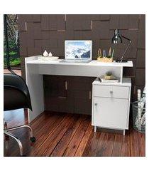 mesa escrivaninha nova mobile lisboa 1 porta e 1 gaveta