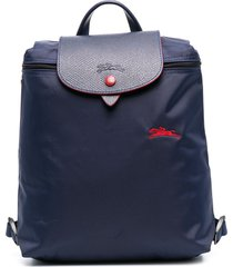 longchamp le pliage backpack - blue
