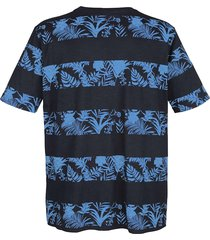 t-shirt boston park marinblå::blå