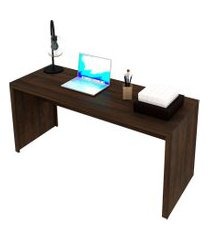 mesa de escritório stella marrom