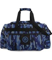 maleta grande macoly 277 lona azul militar