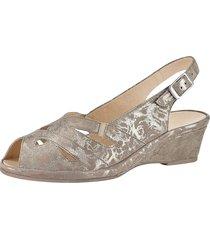 sandalett semler mullvad::guldfärgad