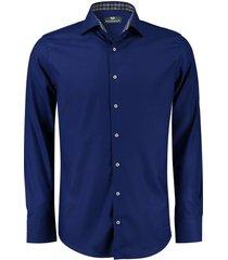 overhemd donkerblauw