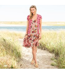 windswept roses dress