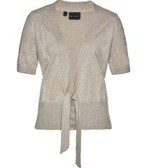 cardigan corto con fiocco (grigio) - bpc selection