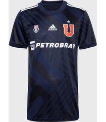 camiseta adidas local club universidad de chile azul (unisex)