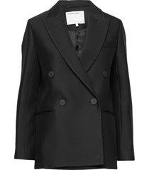 double breasted blazer blazers over d blazers svart designers, remix
