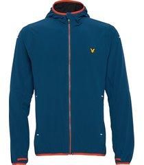 featherweight jacket tunn jacka blå lyle & scott sport