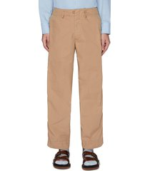puckered outseam pants