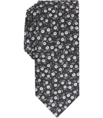 bar iii men's magnolia skinny floral tie, created for macy's