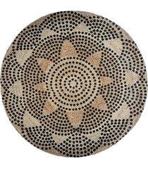 dywan jutowy okrągły sevilla 120 cm