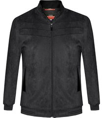 chaqueta bomber belfast negra pierre d'agostiny