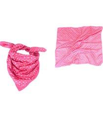 pañuelo rosa almacén de parís