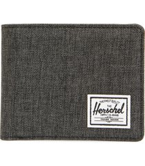 men's herschel supply co. hank rfid bifold wallet - black