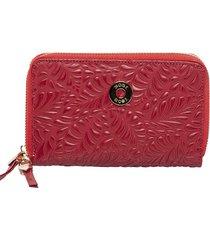 billetera lenar rojo bosi