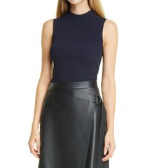 women's boss feska virgin wool sleeveless sweater, size xx-large - black