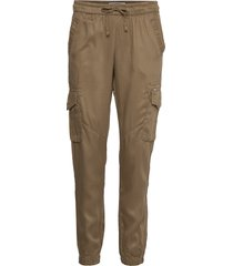 lux utility jogger casual byxor brun superdry