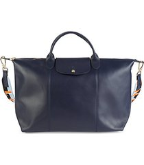 le pliage leather travel bag