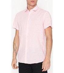 selected homme slhreglinen shirt ss classic b skjortor ljus rosa