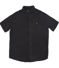 camisa viscosa black kaya unite