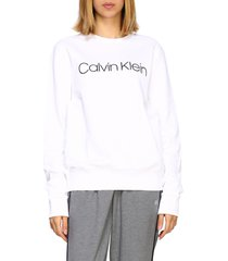 calvin klein sweatshirt crewneck sweatshirt with logo