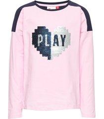 lwt 102 - t shirt l/s t-shirts long-sleeved t-shirts rosa lego wear